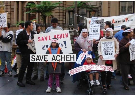 Demonstration In Sydney, Australia, 2003